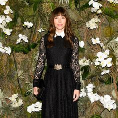 Jessica Biel at Ralph Lauren Collection's Fall 2017 New York Fashion Week Show