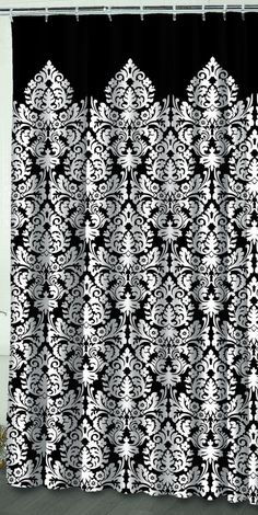 Paradise Tropical Foiliage & Flowers Fabric Shower Curtain ...