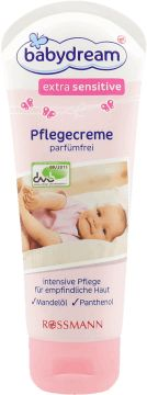 babydream, Extrasensitive, krem pielęgnacyjny, dla dzieci, 100 ml, nr kat. 127856