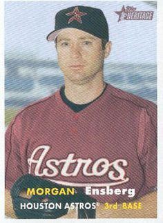 2006 Topps Heritage Baseball #412 Morgan Ensberg MLB Trading Card by Topps Heritage. $1.99. 2006 Topps Co. trading card in near mint/mint condition, authenticated by Topps Collectibles