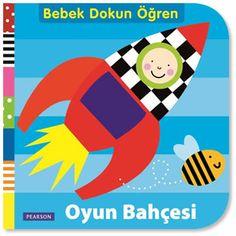 Oyun Bahçesi - Bebek Dokun Öğren Serisi:  360° açılabilen Oyun Bahçesi kitabı renkli resimleri ve farklı dokuları ile bebeğinizin, zihinsel gelişimini desteklemek, hareket becerilerini artırmak ve dil gelişimini hızlandırmak için özel olarak tasarlanmıştır. Oyun Bahçesi kitabı, bebeğinizle uzun süre eğitici oyunlar oynamanızı sağlayacak harika bir kitaptır.