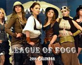 The League of Fogg Steampunk 2014 Calendar