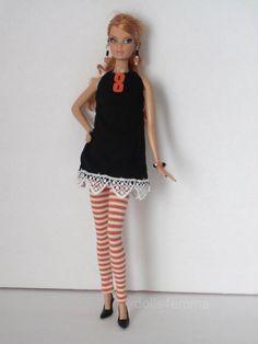 Model muse Barbie Doll Goth Clothes DRESS LEGGINGS + MORE Fashion NO DOLL | eBay