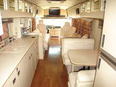 35 Extraordinary Small School Bus RV Conversion Ideas - Home and Camper School Bus Rv Conversion, Sprinter Van Conversion, Conversion Van, Rv Bus, Bus Camper, Buses For Sale, Rvs For Sale, School Bus House, School Buses