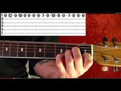 ONE STRING BLUES RIFFS - Guitar Lesson - YouTube