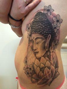 Happy #nieuw # tattoo #buddha #flowers #inkt