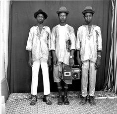 Malick Sidibé - Jeunes Bergers Peuls, 1972