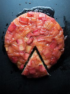 Rhubarb Upside Down Cake | 30 Delicious Things To Cook In April