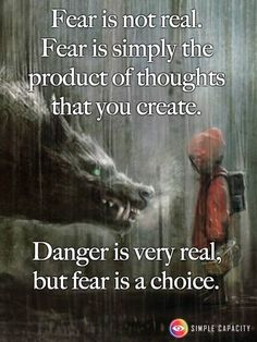 Is there such a thing as fear of  fear itself?