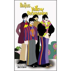 """The Beatles Pocket Planner: """"Ladies and Gentlemen, the Beatles!"""" The Beatles' legendary success hasn't missed a beat! Timeless and groundbreaking—no other band has come close to the success and enduring popularity of The Beatles.  $5.99  http://calendars.com/Beatles/The-Beatles-2013-Pocket-Planner/prod201300000519/?categoryId=cat00083=cat00083#"""