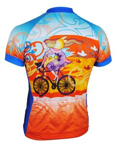 Riding Bicycle Women's Cycling Jersey