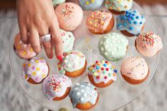 Prettiest donut holes ever