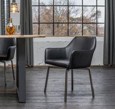 Kasper-Wohndesign Drehstuhl Kunstleder oder Microfaser versch. Farben »LOUI«