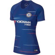 f25697f9d Women Chelsea Home Soccer Jersey Shirt 2018-19 Cheap football kits on  Goaljerseyshop.com 18 19