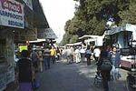 Typical markets in Florence: mercato delle Cascine