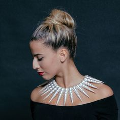 Necklace SHELLS Jewelry Collection, Shells, Jewelry Design, Culture, Fashion, Conch Shells, Moda, Fashion Styles, Seashells