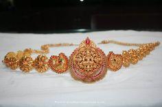 Gold Hip Chain Designs, Gold Antique Hip Chain Designs