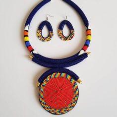 'Akua' Maasai Beaded Necklace + Cuff – The Tsai Maasai Perfect Gift For Her, Gifts For Her, Crochet Necklace, Beaded Necklace, Casual Bags, Glass Beads, Stylish, Earrings, Handmade