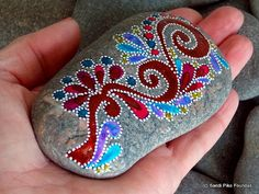 everlasting / painted rocks/ painted stones / by LoveFromCapeCod