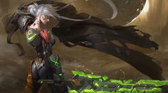 Riven - League of Legends fan art by Linger FTCMore from this... #DiscoverArt - http://wp.me/p6qjkV-lRk #Art