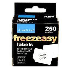 "2.5cm (1"") Freezeasy Labels £2.39"
