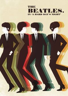 The Beatles 'A Hard Day's Night' 1960s