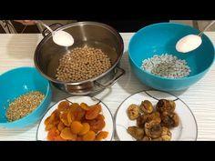Aşure tarifi/ nohutunu şekerle ıslamadıysan aşure yaptım deme kendine - YouTube Turkish Kitchen, Dog Food Recipes, Vitamins, Breakfast, Desserts, Youtube, Postres, Deserts, Dessert