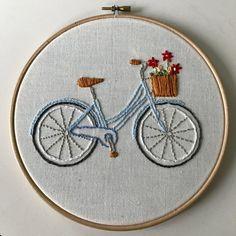 Bicycle Embroidery Hoop