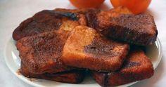 Cómo preparar torrijas de naranja y chocolate
