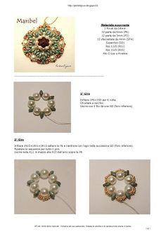 Perle&Bijoux: Ciondolo Maribel - Tutorial