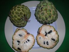 Sugar-apple | Sugar Apple is juicy and creamy fruit, it has a white pulp that ...