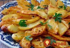 Vegetarian Cooking, Cooking Recipes, Healthy Recipes, Potato Dishes, Food Dishes, No Cook Appetizers, Czech Recipes, How To Cook Potatoes, Cooking Light