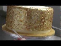 ¿Cómo hacer lentejuelas comestibles para tortas u otros dulces? - YouTube