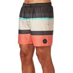 6e04a62c13158 Rip Curl Rapture Stripe 16 Swimming Shorts - Rouge Red Rip Curl, Swim Shorts ,
