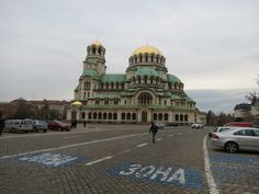 Lorenzo Bl posted a photo:  Alexander Nevski Church, Sofia, Bulgaria