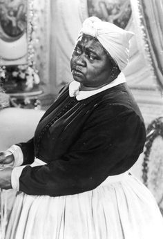 Hattie McDaniel - Gone with the Wind. 1st African American to win an Oscar. (Best supporting actress for Gone With the Wind.) Her parents had been slaves.