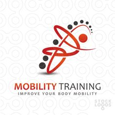 Description The logo it's made from curved lines and circles and represents flexibility, elasticity, mobility. Possible uses Health care, spa, chiropractic care, sports, medical, health products, wellness, etc.