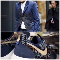 Casual Style for a fvcking mile, Blazer: #Comme_des_Garcons with #Nike: Roshe run ! #menstyle #menswear #guide #gentlemenofthestreet #GOTS