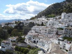 Mijas (a pueblo blanco nr Málaga) Mijas Spain, Andalusia Spain, Great Places, Beautiful Places, South Of Spain, One Day Trip, Free Vacations, Magic City, Chalets