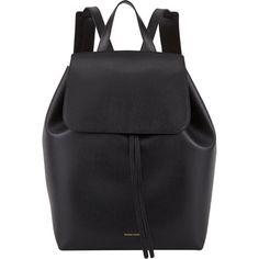 Mansur Gavriel Large Leather Backpack found on Polyvore
