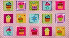 JL Quilts: Panel de Cupcakes www.jlquilts.com