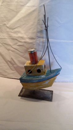 Barco hierro   pesquero