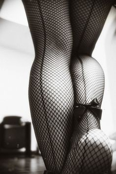 Seamed stockings, one of the most sensual treasures in life. a pic like this on the nightstand on hubbys side is sexy yet not too revealing if others see it Jolie Lingerie, Sexy Lingerie, Fishnet Stockings, Fishnet Tights, Black Stockings, Mode Style, Boudoir Photography, White Photography, Sensual