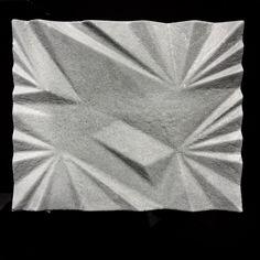 300X250cm Fabric textured concrete tile Straight out of mold-unsealed finish #concrete #concretetile #interiorstyling #interiordesign #walldecor #surfacedesign #designers #designinspiration #architecture #interior123 #tileaddiction #industrial by concretorium