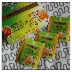 MichelaIsMyName: TWININGS Salted Caramel Green Tea