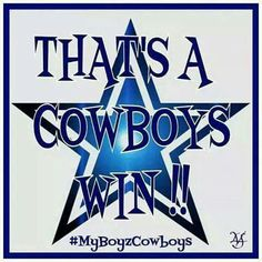 That's a Cowboys Win