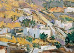 .:. Μαυροϊδής Γιώργος – Giorgos Mavroidis [1912-2003] Νησιωτικό τοπίο