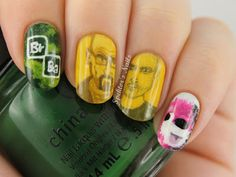 Breaking Bad    #nail #nails #nailart