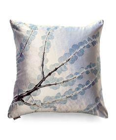 Indigo Bronti on Cinder Pillow - Decorative Pillows - Pillows Aviva Stanoff $325