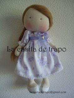 Muñeca Carmina, la casita de trapo, Chile